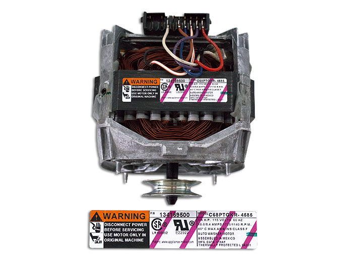 MOTOR,3/4 HP,2 SPEED,WITH SUST 131902700, USAR 134159500-ELX
