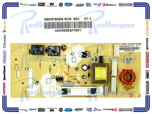 TARJETA CONTROL BASICA SUST. 189D2578G001