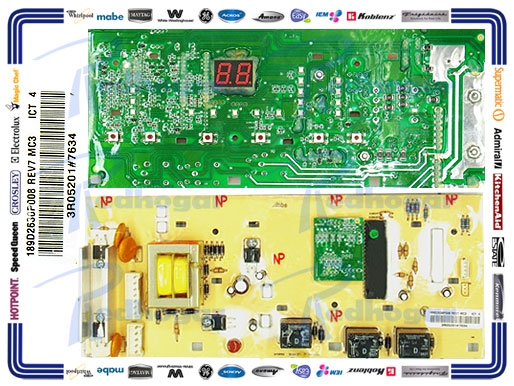 TARJETA CONTROL G4 11 Y 13 KG USAR 189D2630P011