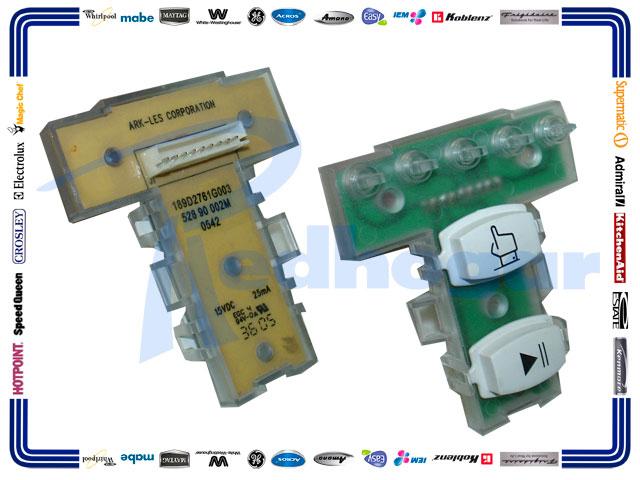 TARJETA BOTONES USAR 189D2761G006