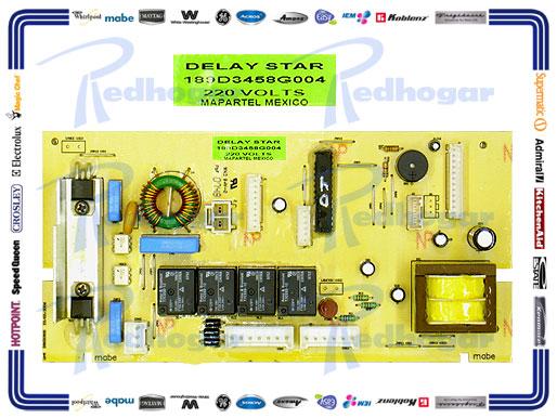 TARJETA PERILLA LMA1493PBXS0 220 VOLTS