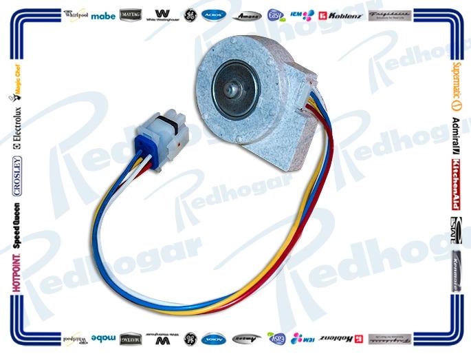 MOTOR ESQ. F/LARGA 9.75 V 3.25W EVAPORADOR USAR WR197D2039P007,  WR60X10185-10154
