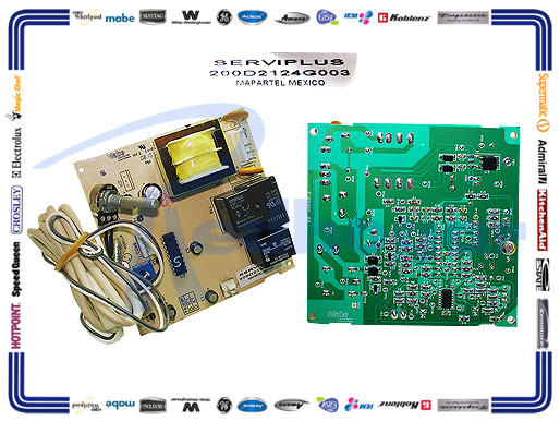 CONTROL AMBIENTAL ELECTRONICO 16 PIES compatible 200D2124G001