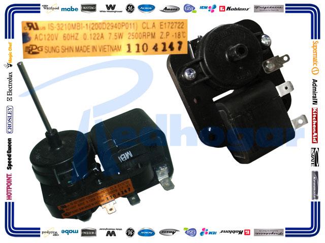 MOTOR ESQUELETO PLASTICO F/LARGA idem 200D2940P016