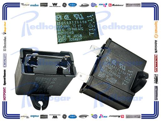 CAPACITOR 12 MF WH. MISMO 2169373, WR203C2799P004