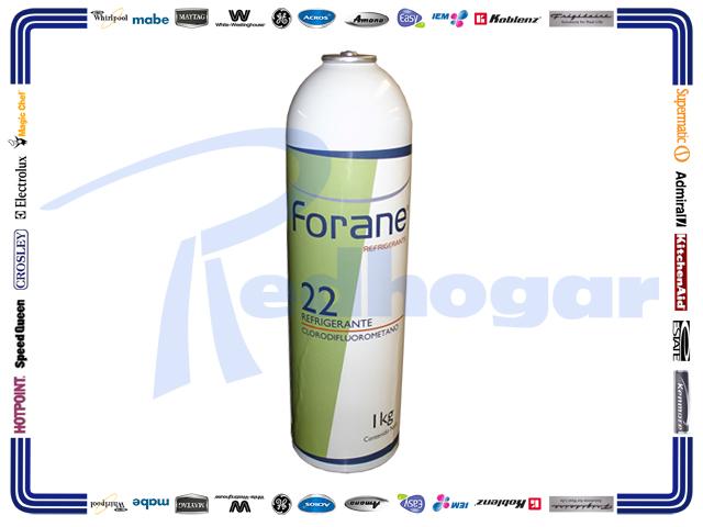 ECONOLATA GAS 1 KG. 22 FORANE usar RX0431 r22