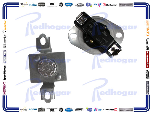 KIT TERMOSTATOS 6A, 13W, L146 2/P 352°