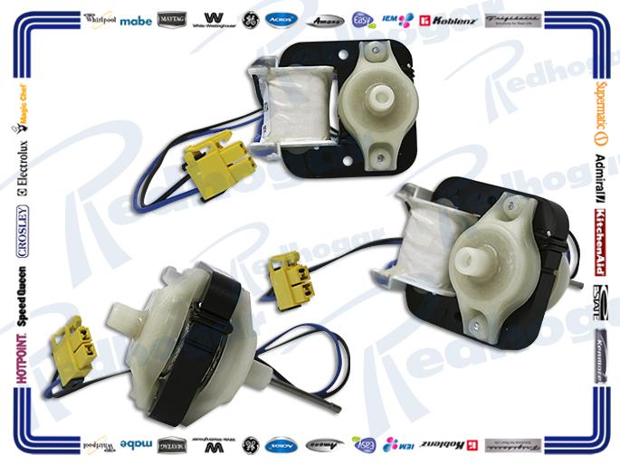 MOTOR VENTILADOR 2250 rpm 120V  FLECHA GRUESA, CORTA 3015914300 3015922300