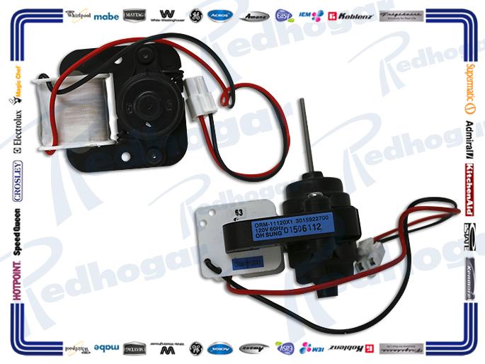 MOTOR VENTILADOR 2400 rpm 120 V FLECHA DELGADA, LARGA 3015922700
