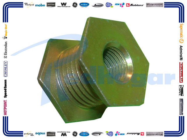 POLEA MOTOR METAL ROSCA IZQUIERDA SUST.  530932, 53-0932,31001535