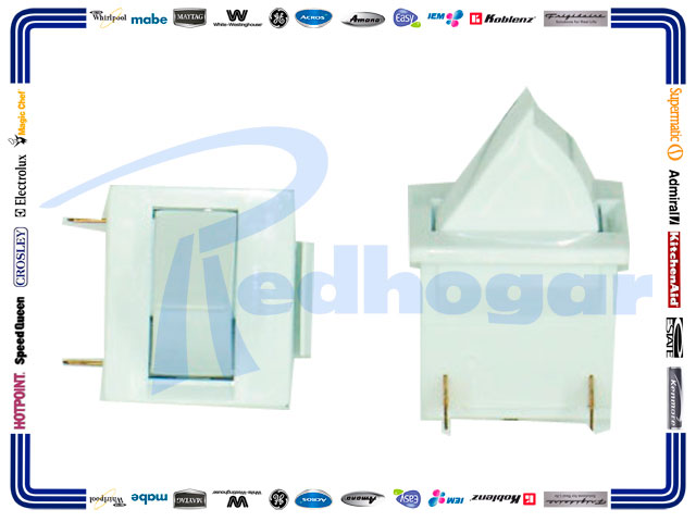 SWITCH LUZ INT. 1/2 LUNA MOD 2/P MISMO 465854P004