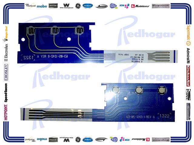 MEMBRANA CONECTOR MISMO 33001200