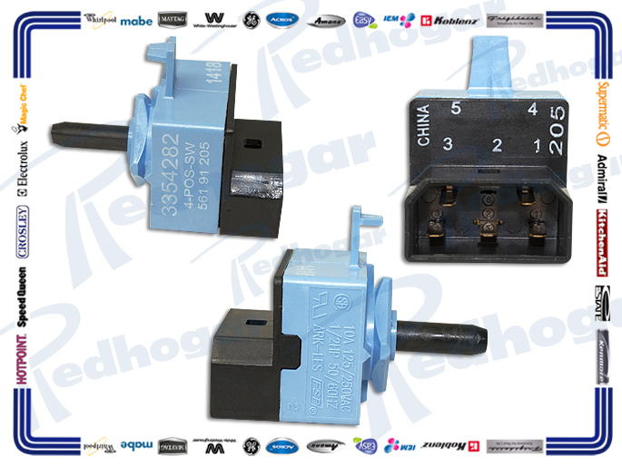 MICROSWITCH VELOCIDADES 3354282