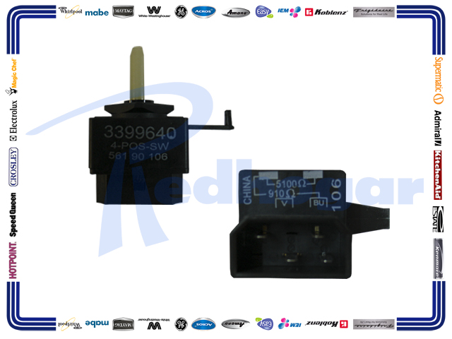 SWITCH SELECTOR 4 POS