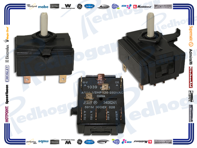 MICROSWITCH SELECTOR 5 POSICIONES