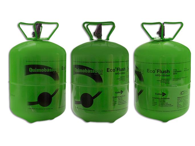 GAS BOYA 10.0 KG. eco flush hfc-1233zd AGENTE DE LIMPIEZA