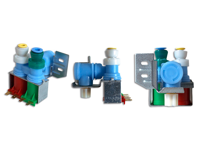 ELECTROVALVULA ICE MAKER DOBLE WHIRLPOOL K-75384  sin accesorios 2188778