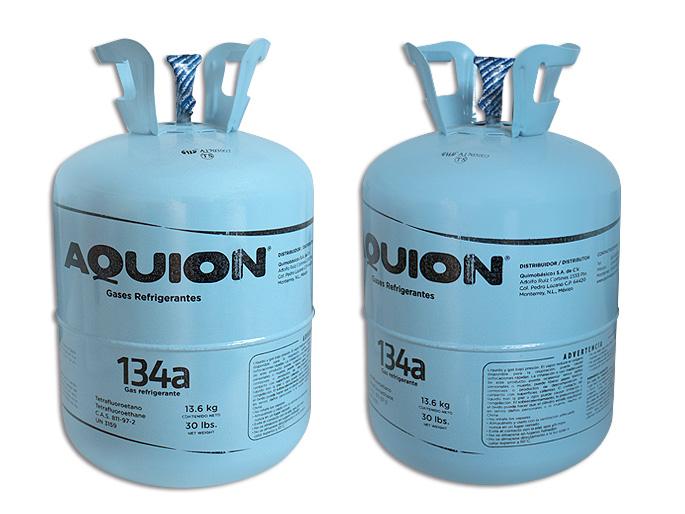 GAS BOYA 13.6 KG. R134A AQUION HFC 134a