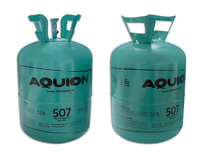 GAS BOYA 11.340K R507A  AQUION HFC 507