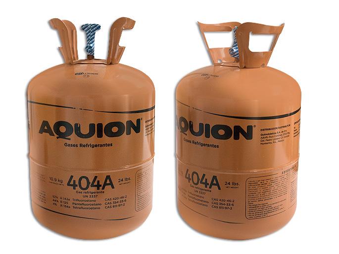 GAS BOYA 10.9 KG. 404A AQUION HFC 404A