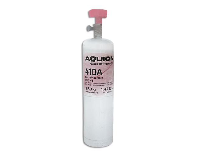 ECONOLATA GAS R410A 650g AQUION HFC 410A CON LLAVE