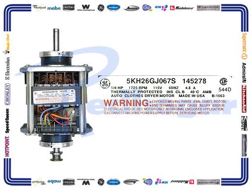 MOTOR CENTRO LAVADO WW SUST 626761, AH460196, EA460196, PS460196