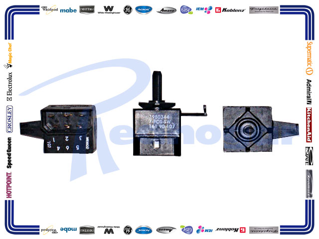 MICROSWITCH ROTARY WH