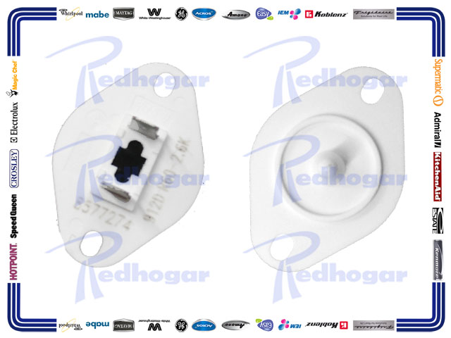 whirlpool erp Description replacement whirlpool part number w10188389 this is a evaporator fan motor fan blade is not included hexagon mounting on both sides of motorshaft.