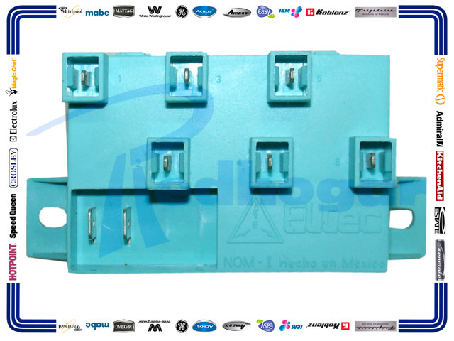 Modulo encendido 6 bujias acros usar w10455035 redhogar for Encendido electronico cocina whirlpool