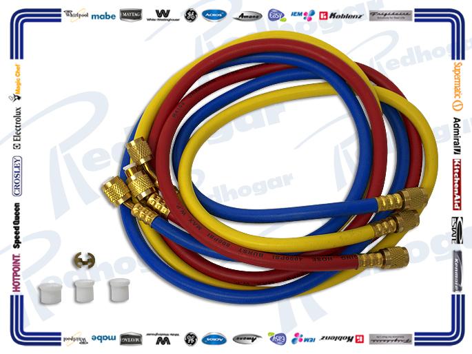 JGO MANGUERAS MANOMETRO 152.5 CM  R410