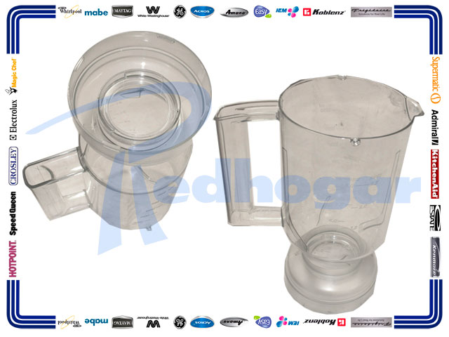 VASO PHILLIPS TOP CALIDAD ROSAN