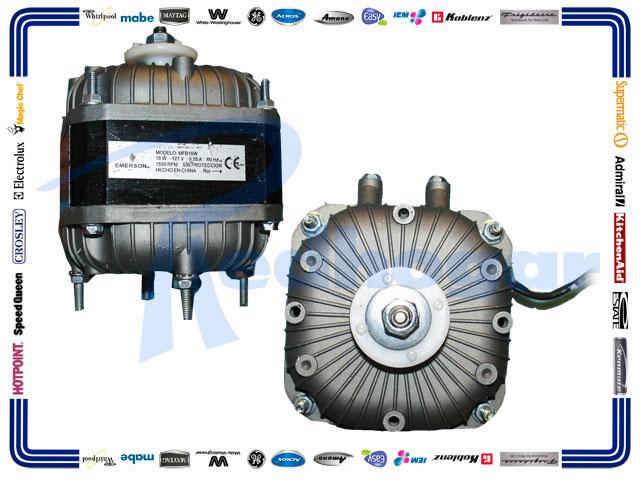 MOTOR 1/40 CERRADO EMERSON C/BALERO 18W 127V 60HZ 1550RPM