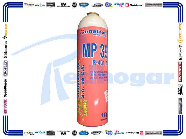 ECONOLATA GAS 1 KG. MP39 GENETRON