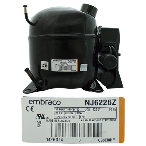 COMPRESOR 1 1/4 HP R134a  208-230v 60 Hz  MEDIA/ALTA PRESION DE RETORNO