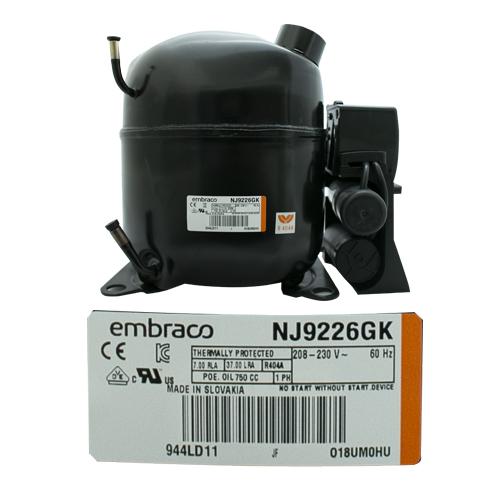 COMPRESOR 1 HP R404a  208-230v 60 Hz  MEDIA/ALTA PRESION DE RETORNO