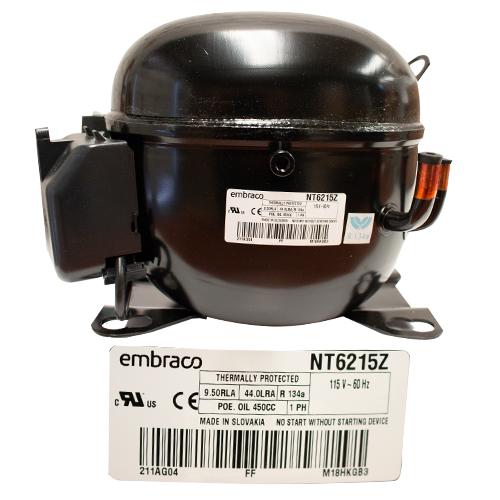 COMPRESOR 1/2  R134a 115-127V 60HZ ALTA PRESION DE OPERACION DE RETORNO EMBRACO