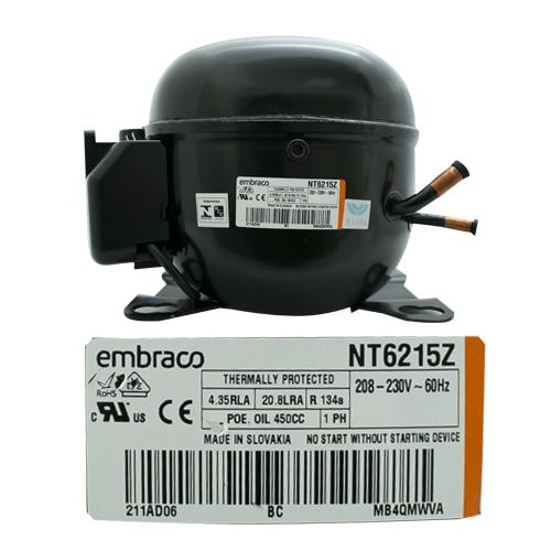 COMPRESOR 1/2  R134a 208-230V 60HZ ALTA PRESION DE OPERACION DE RETORNO EMBRACO