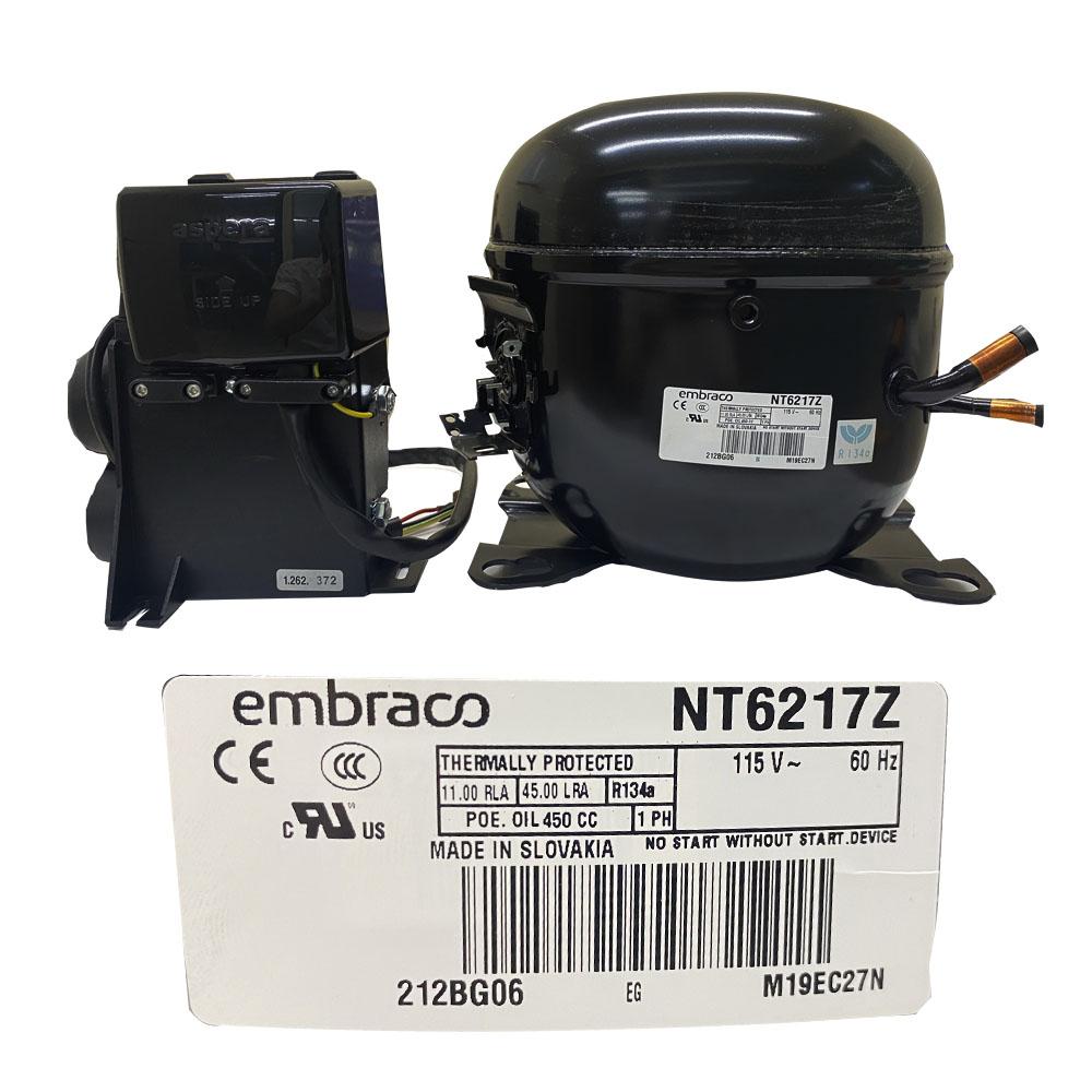 COMPRESOR 3/4  R134a 115-127V 60HZ ALTA PRESION DE OPERACION DE RETORNO EMBRACO
