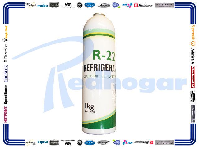 ECONOLATA GAS 1 KG R22 MARCAT usar RX0431 r22