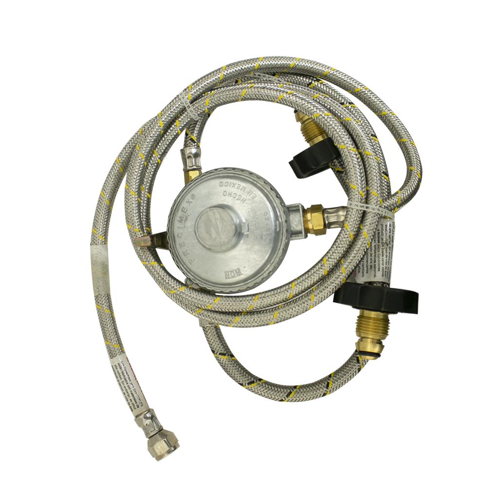 KIT INSTALACION P/2 CILINDROS  GAS LP 3/8