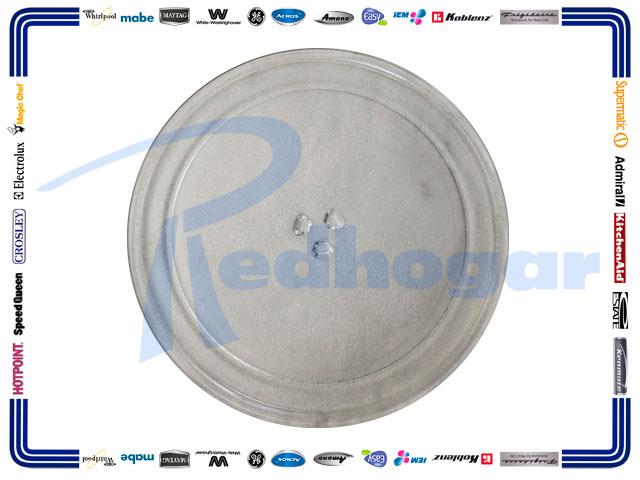 PLATO C/GIRATORIO REDONDO 32.5CMS