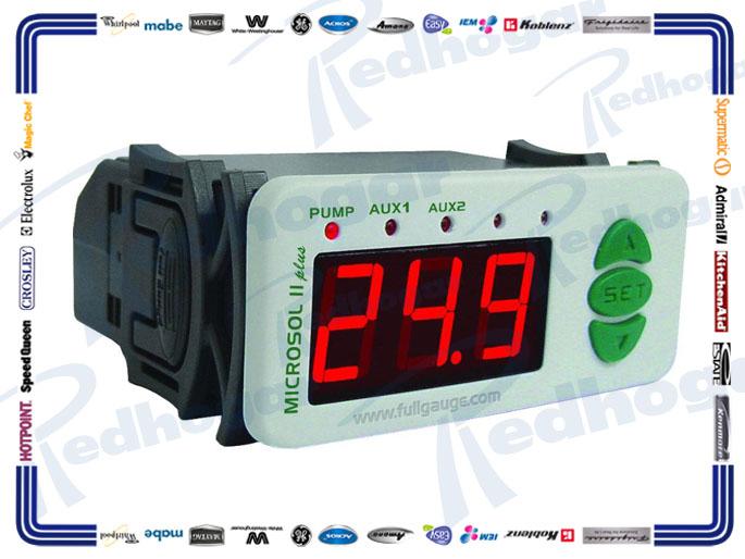 CONTROLADOR ELECTRONICO SOLAR II PLUS 110/220V FULL GAUGE