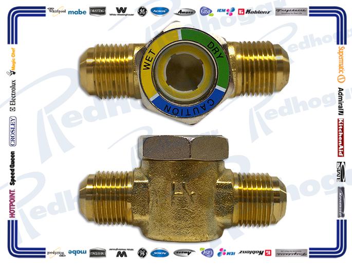 INDICADOR HUMEDAD VISOR DE LIQUIDO 1/2 R22/R402 FLARE