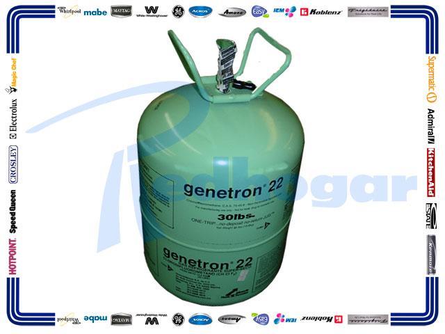GAS BOYA 13.6 KG. R22 GENETRON