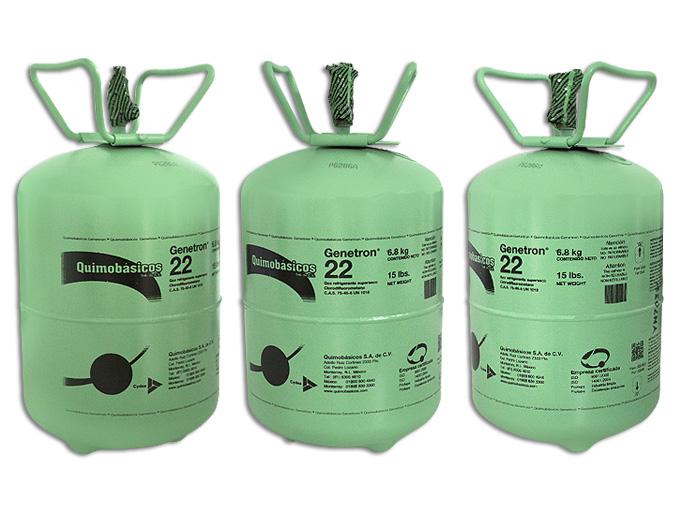 GAS BOYA 22.7 KG. R22 GENETRON