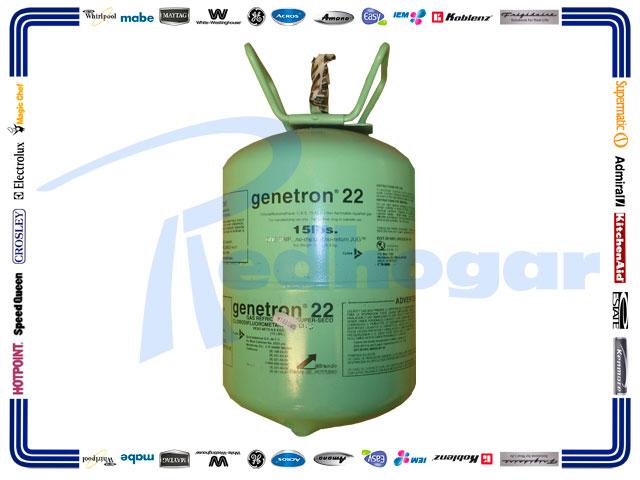 GAS BOYA 6.8 KG. R22 GENETRON