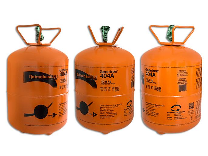 GAS BOYA 10.9 KG. 404A GENETRON (HP62)
