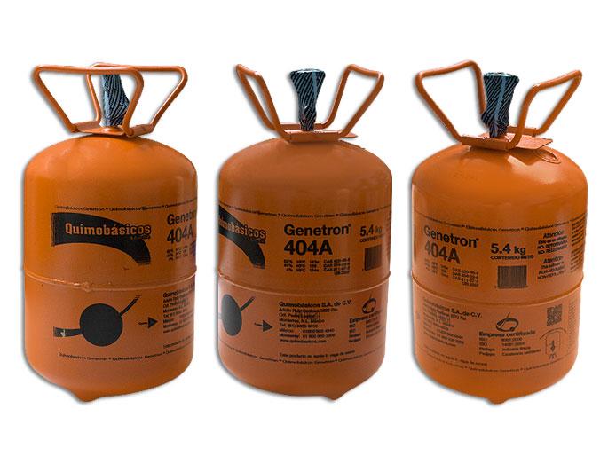 GAS BOYA 5.4  KG. 404A GENETRON