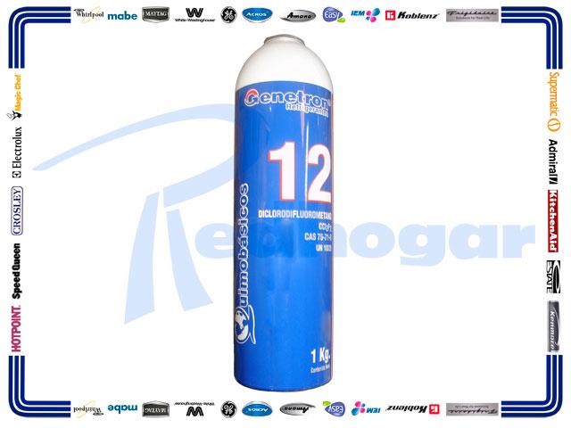 LATA GAS 1 KG. R12 GENETRON