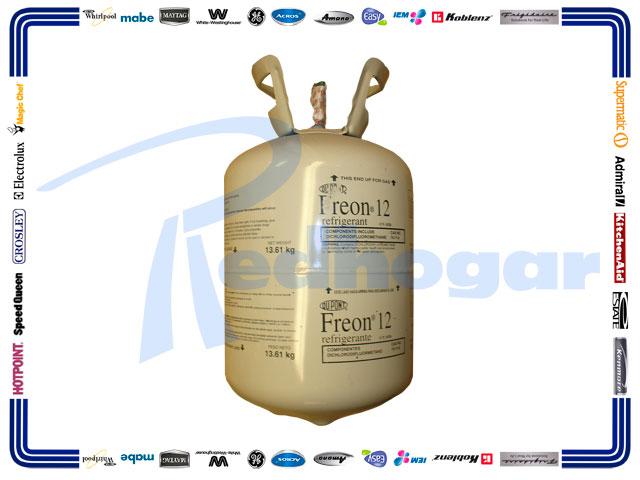 GAS BOYA 13.6 KG. R12 DUPONT